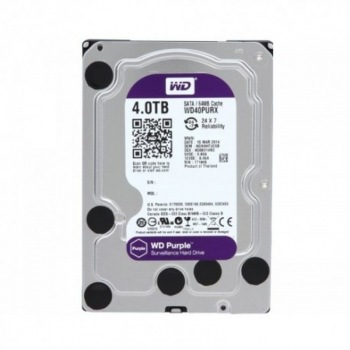 4Tb Western Digital WD40PURX Purple, SATA III